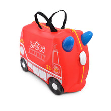 Load image into Gallery viewer, Trunki Case Frank Fire Engine