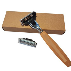 Eco-friendly Wooden Handle Safety Razor