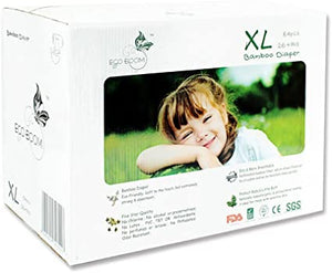 Ecoboom Bamboo Biodegradable Diaper