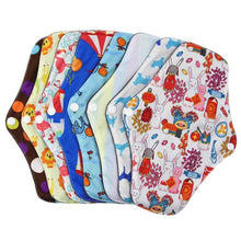 Load image into Gallery viewer, Washable Cloth Pantyliners