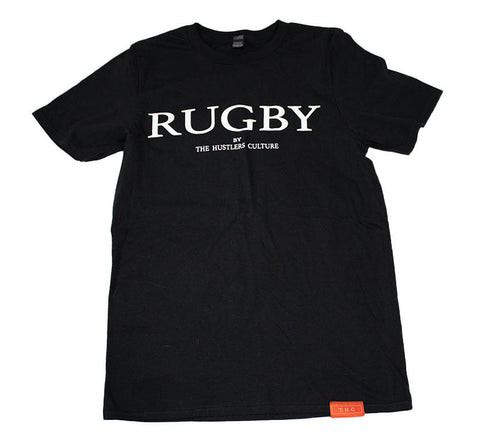 Black Rugby T-Shirt
