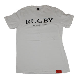 White Rugby T-Shirt