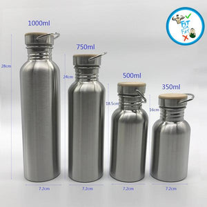 Portable Stainless Steel Water Bottle