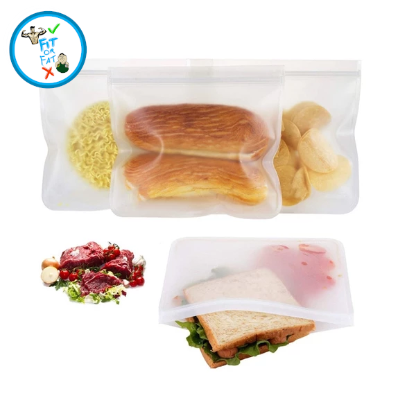 Food Reusable Plastic Bags