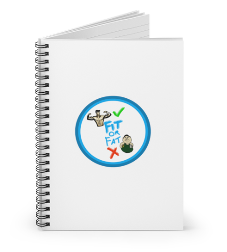 book notebook spiral notebook fitness date