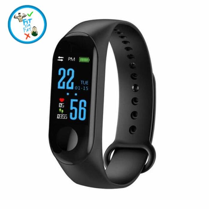 Fitness Tracker Black Accessories