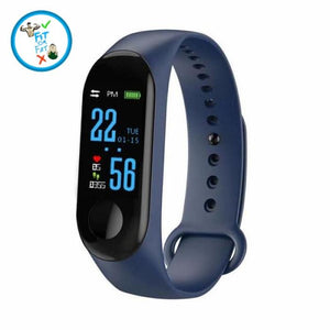 Fitness Tracker Blue Accessories