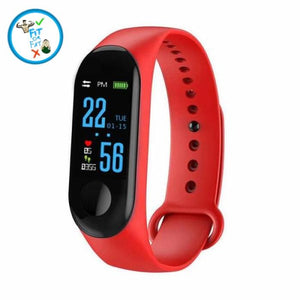 Fitness Tracker Red Accessories