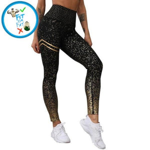 Leggings Push Up Black Hype / M
