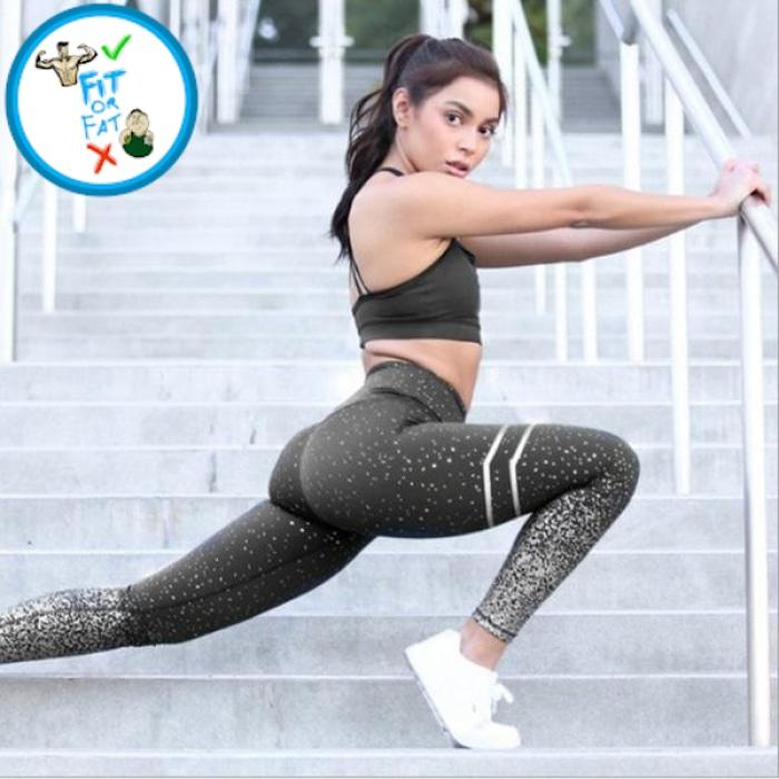 Leggings Push Up Black / L
