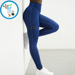 Leggings Push Up Blue / S
