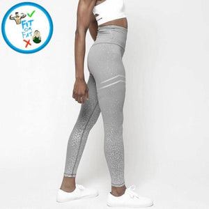 Leggings Push Up Gray / L