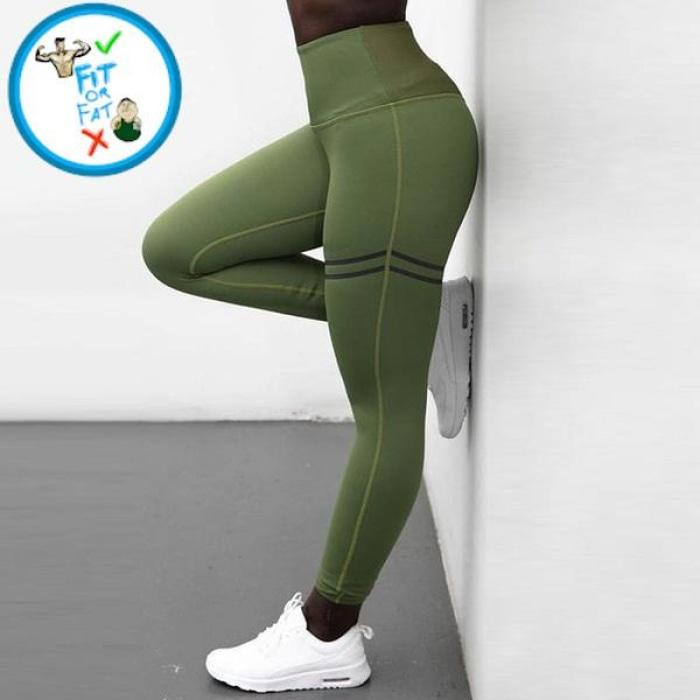 Leggings Push Up Green / S
