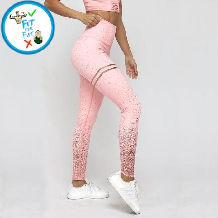 Leggings Push Up Pink / L
