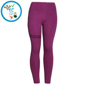 Leggings Push Up Purple Hype / S