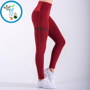 Leggings Push Up Red / S