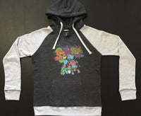 Ladies Raglan Cow Got Cash Hoodie
