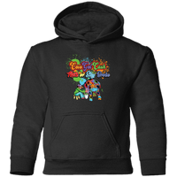 Toddler CGC Color Splash Logo Pullover Hoodie - CowBrand Clothing Store
