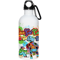 CGC Color Splash  Stainless Steel Water Bottle - CowBrand Clothing Store