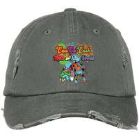 CGC Embroidery  Distressed Dad Hat - CowBrand Clothing Store