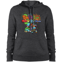 Ladies CGC Color Splash Pullover Hooded Sweatshirt