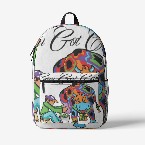 Cow Got Cash Logo Backpack