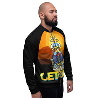Men's Cow Got Cash Bomber Jacket