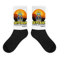 Cow Got Cash Sunset Rising Socks