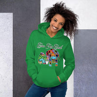 Ladies Cow Got Cash Logo Hoodie