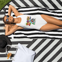 Ladies Cow Got Cash One-Piece Swimsuit - CowBrand Clothing Store