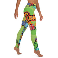 Cow Got Cash Yoga Leggings