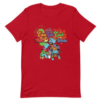 Men's Cow Got Cash Color Splash Logo T-Shirt
