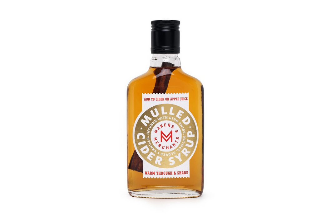 Makers & Merchants Mulled Cider Syrup