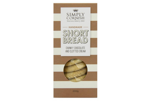 Simply Cornish Chunky Chocolate & Clotted Cream Shortbread