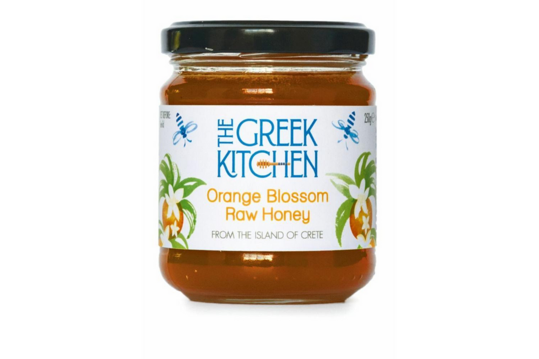 The Greek Kitchen Orange Blossom Raw Honey
