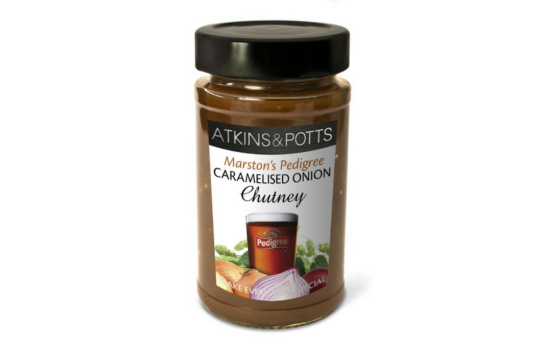 Atkins & Potts Marston's Pedigree Caramelised Onion Chutney