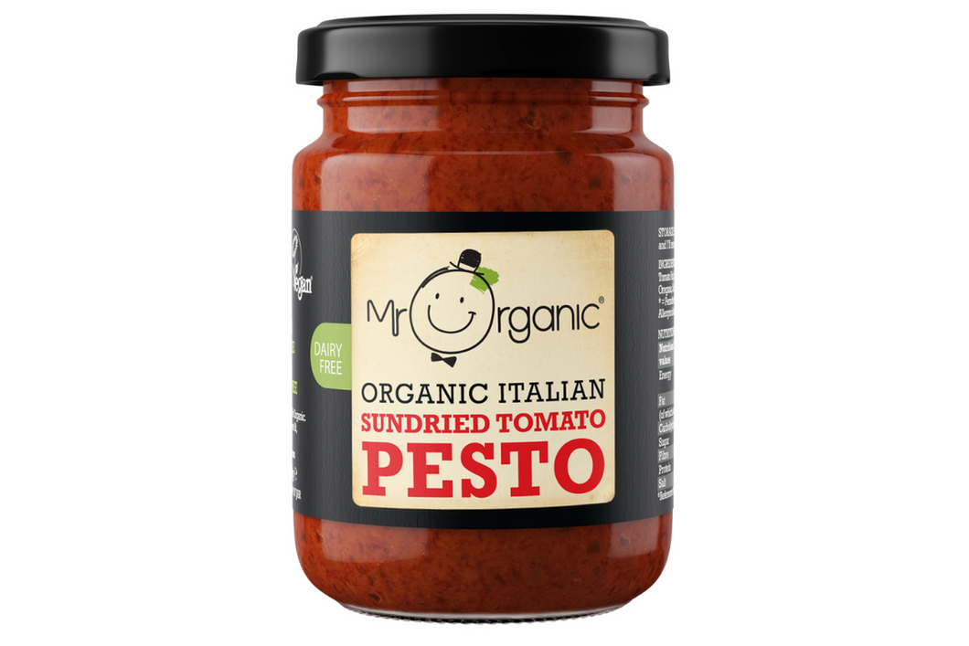 Mr Organic Italian Sun-dried Tomato Pesto