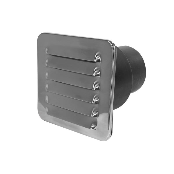 Louvre Vents – Stainless Steel with Tail
