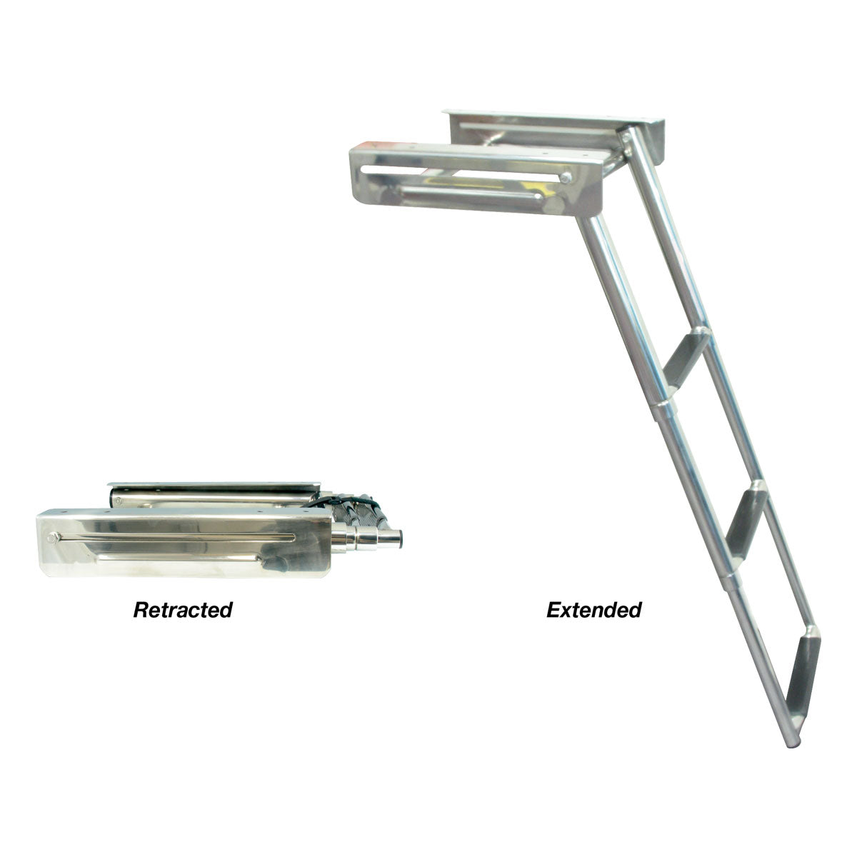 Marine Town® Telescopic Boarding Ladder – Stainless Steel