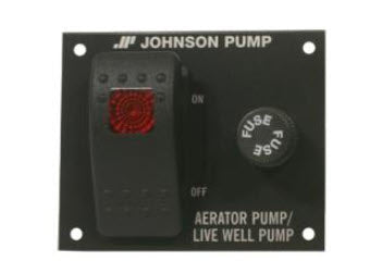 JOHNSON LIVE WELL PUMP SWITCH PANEL