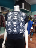 Stormtrooper Crewneck Pullover with Black Star Wars Print