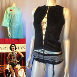Rocky Horror Picture Show Cosplay Costumes of Magenta and Dr Frank-n-furter