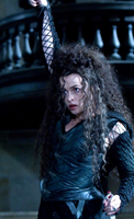 Bellatrix Lestrange Corset and Skirt Costume for Harry Potter Cosplay