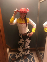 Toy Story Jessie Cosplay Cowboy Shirt and Chaps
