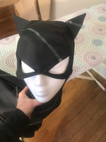 Catwoman Catsuit and Hood Costume Cosplay from Batman Returns
