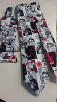 Imperials and Kylo Ren Star Wars Neckties in bow tie, skinny tie, and standard tie styles, kids or adult sizes