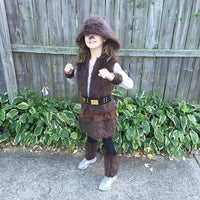 Kids Chewbacca Star Wars Wookie Costume