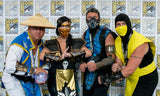 Mortal Kombat Scorpion and Raiden Cosplay Costumes