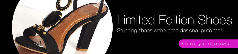 Limited Edition Shoes - without the designer prices