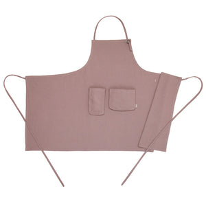 Numero 74 Adult Apron Dusty Pink